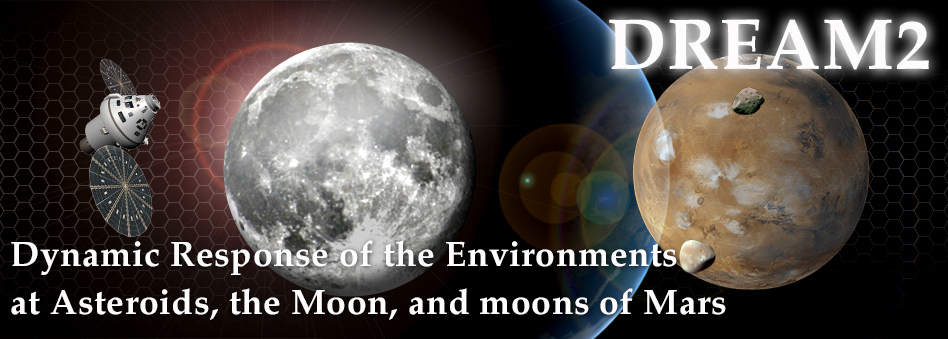 DREAM2 | Dynamic Response of the Environments at Asteroids, the Moon, and moons of Mars